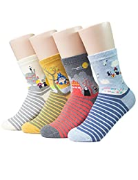 Socksense Japan Animation Series Women's Socks 4pairs(4color)=1pack Made in Korea