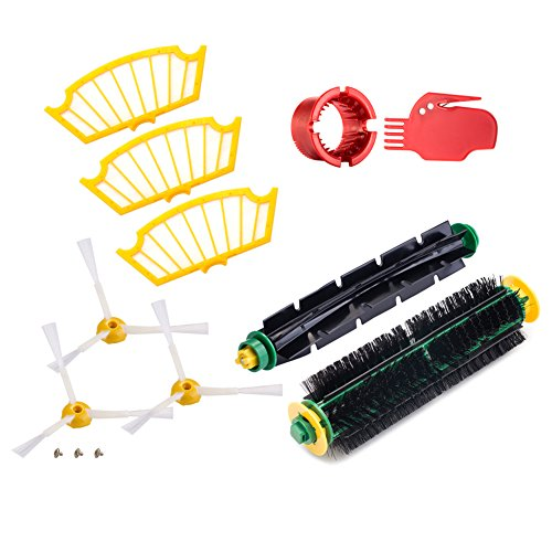 Find vacuum cleaner parts and accessories for your iRobot Roomba Series, including the Auto Virtual Wall, Virtual Halo, side brushes & replacement filters.