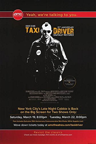 Top 10 recommendation taxi driver original poster for 2019