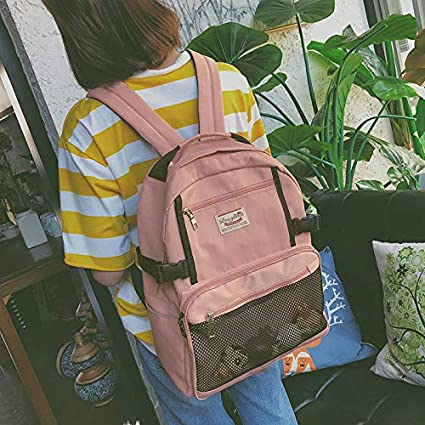 Amazon.com: 2018 Backpacks Female Wild Campus high School College Bag Tide Backpack Fashion Leisure XD129: Kitchen & Dining