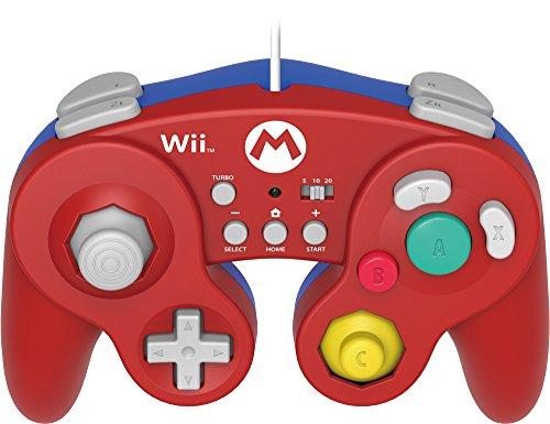 HORI Battle Pad for Wii U (Mario Version) with Turbo - Nintendo Wii U (Mario Gamecube Hori)