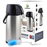 Best Coffee Airpots - TOMAKEIT Airpot Coffee Carafe Thermos 3L(102 Oz) Insulated Review