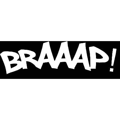 BRAAAP! VINYL STICKER: Automotive