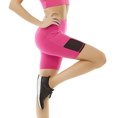SCRT Nuevos Pantalones Cortos De Yoga, Secado Rápido ...
