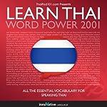 Learn Thai - Word Power 2001    Innovative Language Learning