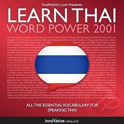 Learn Thai - Word Power 2001