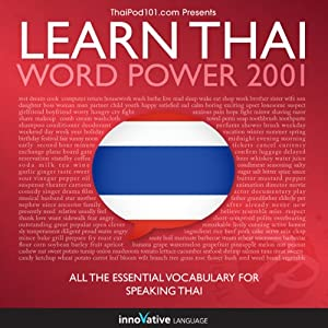 Learn Thai - Word Power 2001 Audiobook
