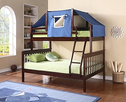 Donco Kids Twin Over Full Mission Bunk Bed by Donco Kids