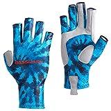 Bassdash ALTIMATE Sun Protection Fingerless Fishing Gloves UPF 50+ Men's Women's UV Gloves