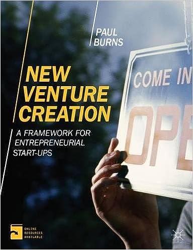 New venture creation a framework for entrepreneurial start ups new venture creation a framework for entrepreneurial start ups amazon professor paul burns 8601410579517 books fandeluxe Gallery