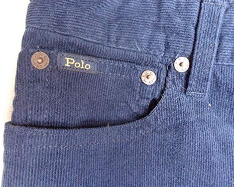 ポロ ラルフローレン Polo Ralph Lauren コーデュロイ ジーンズ W30L30 ネイビー スリム パンツ [並行輸入品]