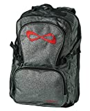 Nfinity Backpack with Logo, Sparkle Grey/Black