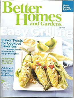 Better Homes And Gardens July 2009 Easy Grilling Amazon