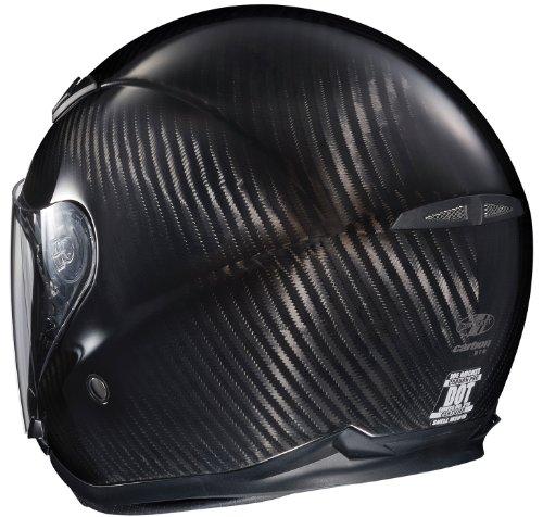 Amazon.com: Joe Rocket RKT-Carbon Pro Open Face Carbon Fiber Motorcycle Helmet (Black/Titanium, Medium): Automotive