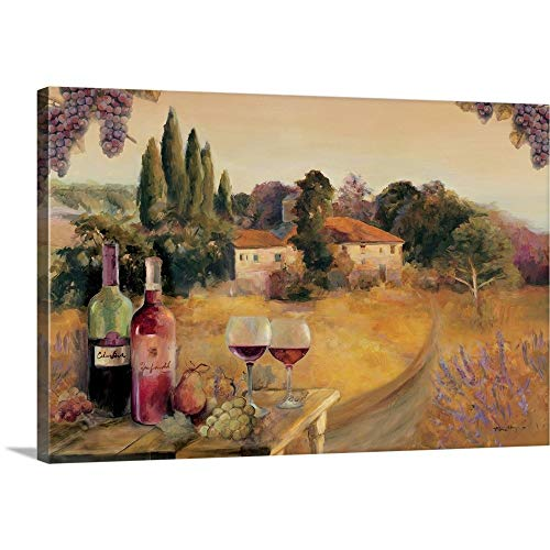 Spoleto Afternoon Canvas Wall Art Print, 48