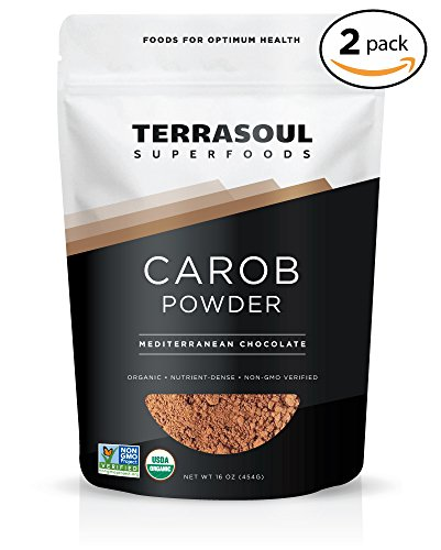 Terrasoul Superfoods Organic Carob Powder, 2 Pounds