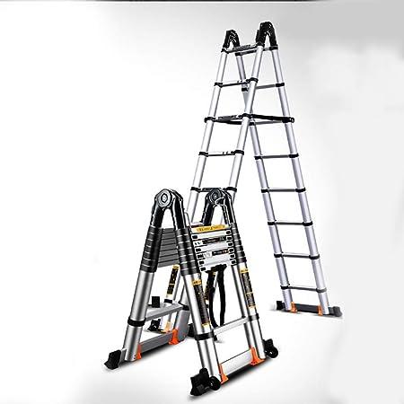 MC-BLL-ladder Escalera multifunción portátil para el hogar Escalera Plegable de Aluminio más Gruesa Escalera telescópica Escalera de ingeniería Escalera de ingeniería: Amazon.es: Hogar