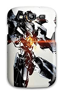 Charejen Case Cover Protector Specially Made For Galaxy S3 Pacific Rim Gypsy Danger Art