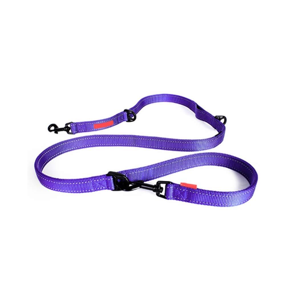 LXRZLS Pet MultiFunction Leash.Dog Leash  Adjustable Traction Rope Dog Straps For