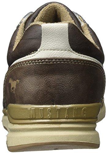 Mustang Herren 4095-302-32 Sneaker Braun (Dunkelbraun)
