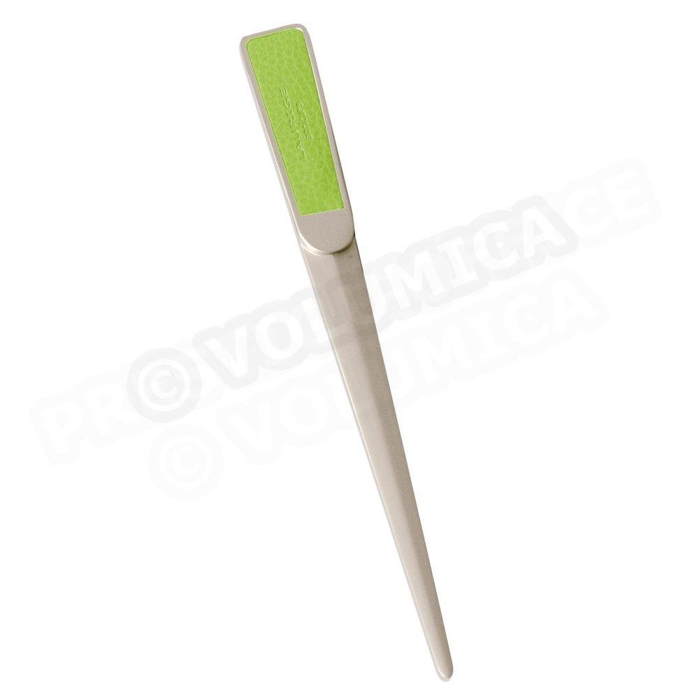 abrecarta piel vert-anis Beaubourg Volumica