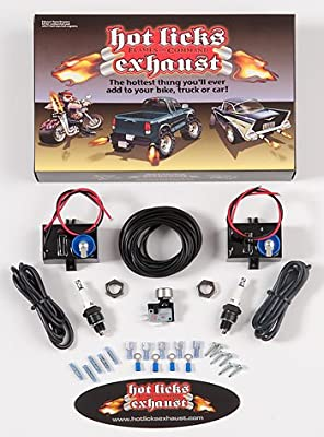 Hot Licks Dual Exhaust Flamethrower Kit for Automobiles or Motorcycles