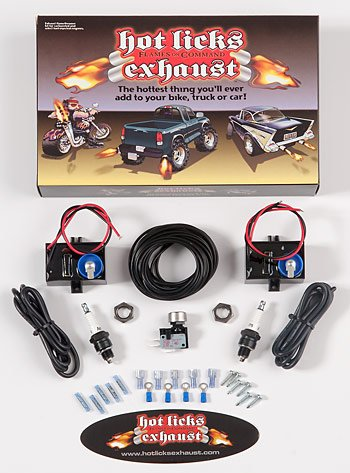 51b 3iHMbSL amazon com hot licks dual exhaust flamethrower kit for Propane Exhaust Flamethrower Kit at readyjetset.co