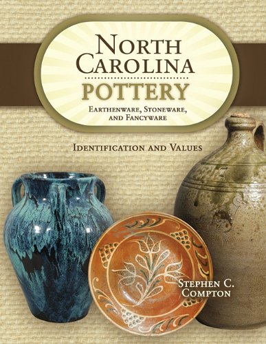 North Carolina Pottery: Earthenware, Stoneware, and Fancyware, Identification and Values pdf