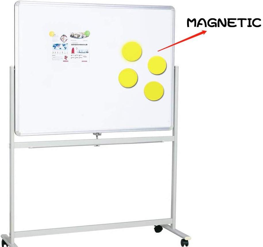 3,6 cm Zuhause leicht Lehrer trocken abwischbar rund ideal f/ür Kinder Klassenzimmer 20 St/ück Magnetischer Whiteboard-Radiergummi Schule B/üro
