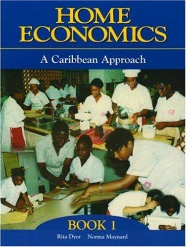 Caribbean Home Economics: Book 1