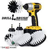 Drill Brush – Ultimate Car Wash Kit - Cleaning Supplies – Car Carpet - Truck Accessories - Wheel Brush - Motorcycle Accessories - Car Mats - Spin Brush - Interior Leather, Vinyl, Upholstery, Fabric
