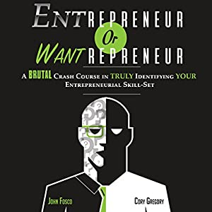 Entrepreneur or Wantrepreneur Audiobook