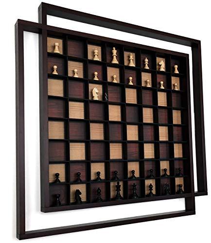 Hand Carved Chess Pieces - AMBRIZZOLA Quadretti 29