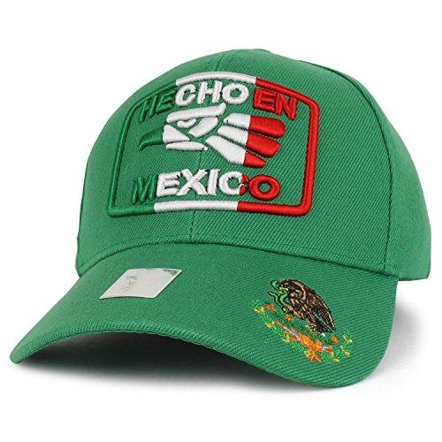 e79a0c0eb3b46a Trendy Apparel Shop Hecho en Mexico Eagle 3D Embroidered Adjustable  Baseball Cap