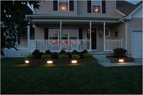Amazon.com  Kerr Lighting Garden Wall Light 4  x 12  - 4 Pack Kit for Retaining Walls  Landscape Path Lights  Garden u0026 Outdoor & Amazon.com : Kerr Lighting Garden Wall Light 4