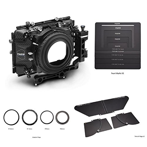 TILTA MB-T04 45.65 Carbon Fiber Matte Box Swing-Away 15/19mm for Film Camera