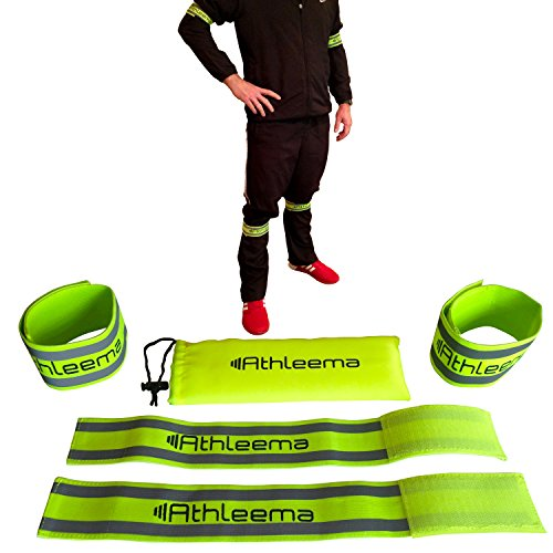 reflective-arm-or-leg-elastic-bands-by-athleema-set-of-4-velcro-straps-fully-adjustable-high-nightti