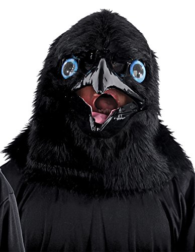 Halloween Mask- Animated Animal Raven Mask -Scary Mask for $<!--$34.91-->