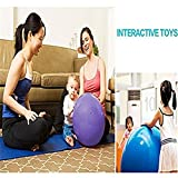 QUBABOBO PVC Anti Burst Exercise Fitness Workout