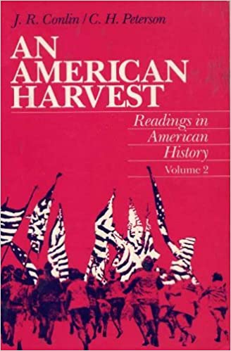 An american harvest reading in american history volume ii joseph an american harvest reading in american history volume ii 1st edition fandeluxe Image collections