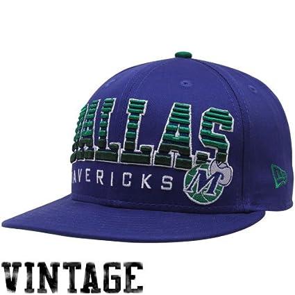 ce13950b34c Amazon.com   NBA New Era Dallas Mavericks Royal Blue Fade 9FIFTY ...