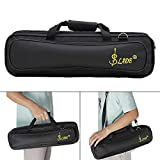 ammoon LADE Padded Flute Bag Backpack Soft Case