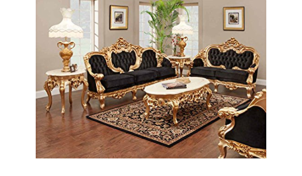 Odette French Victorian Sofa Set Furniture Decor