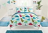 Heritage Kids Dino Roar Bed in a Bag, Multi, Twin