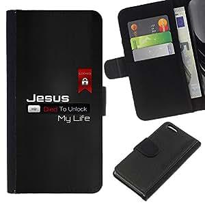 Stuss Case / Funda Carcasa PU de Cuero - Gracioso - JESÚS MURIÓ - Apple Iphone 5C