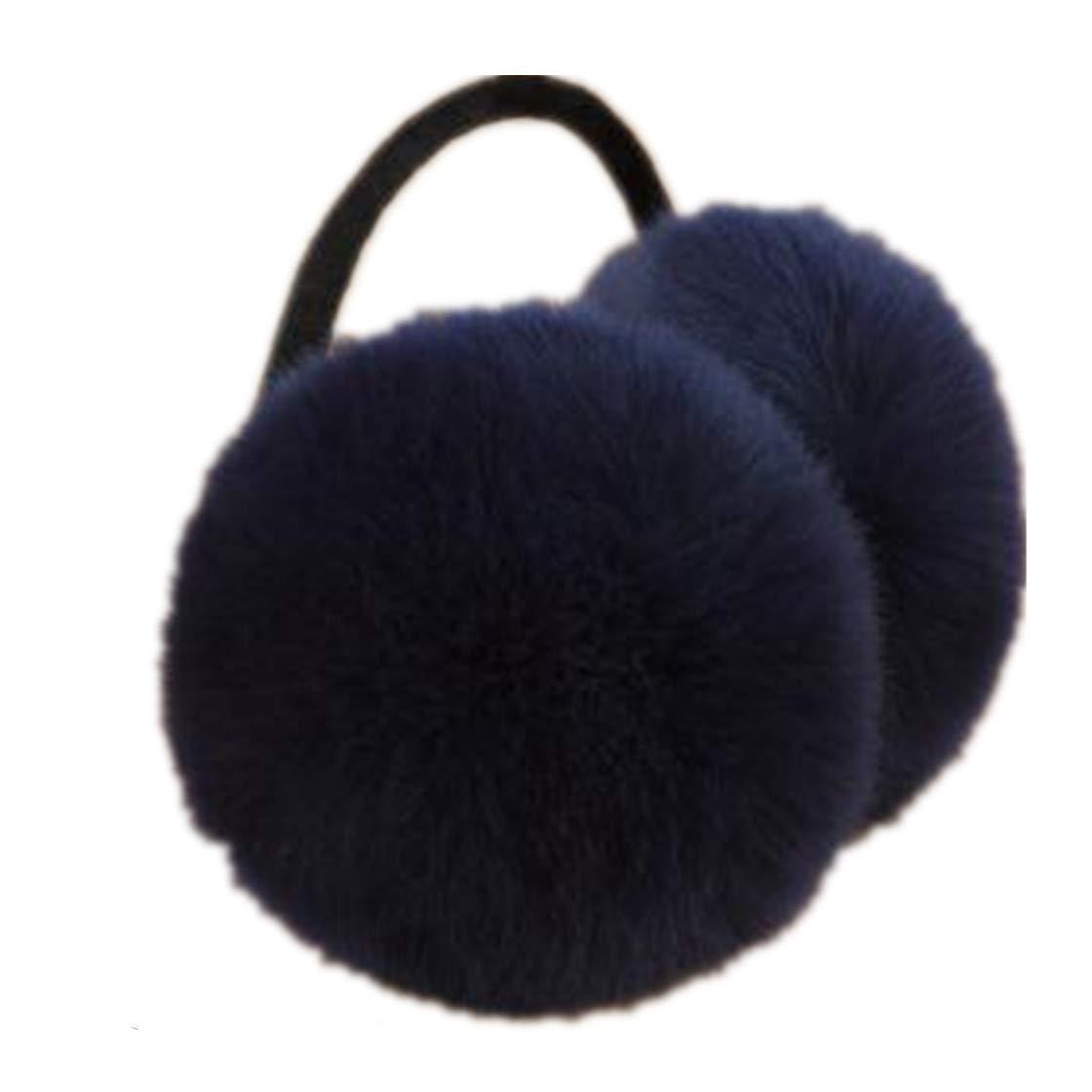 5Pcs Cute Rabbit Earmuffs Warm Winter for Women Ear Cache Comfort