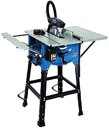SCHEPPACH HS 100 m 254 mm sierra de mesa] (soporte y mesas ...
