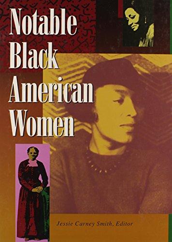 Books : Notable Black American Women: Book I (Bk. 1)