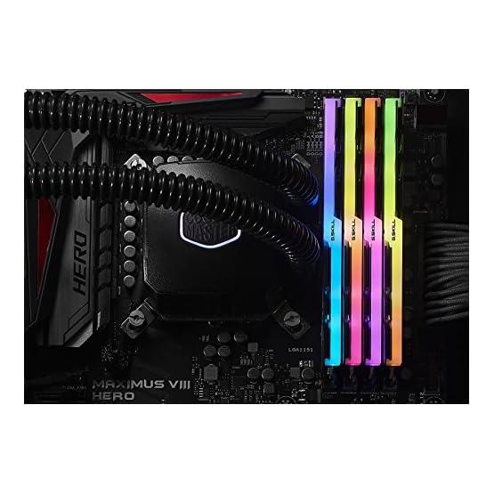 G.SKILL F4-3200C16Q-32GTZR Trident Z RGB Series 32GB, 288-Pin SDRAM DDR4-3200MHz (PC4 25600) Desktop Memory 51b 8%2BgWpFL. SS555