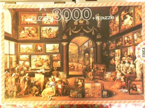 Alexander Magno Visitng Apelles Studio: 8000 Piece Jigsaw (8000 Jigsaw Puzzle)